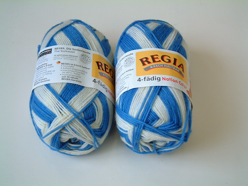 Regia Nation Color- Blue and White