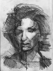 orna (dromidror) Tags: woman pencil sketch draw