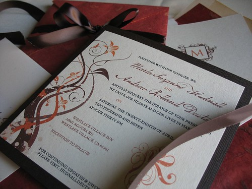 DIY Wedding Challenge: Elegant Fall Colored Wedding ...