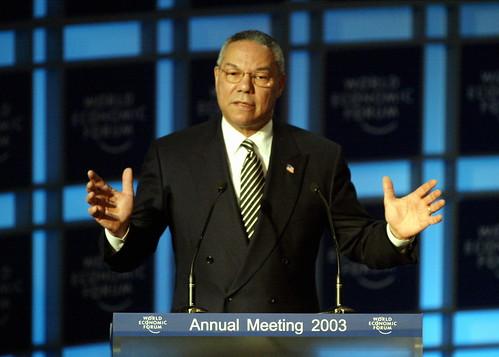 Colin Powell - World Economic Forum Annual Meeting Davos 2003