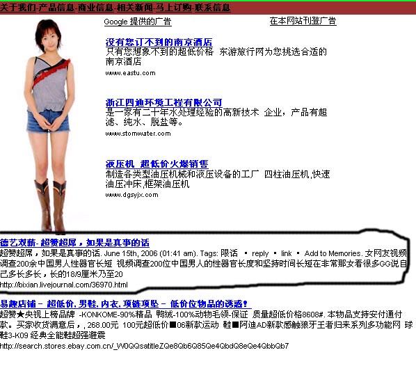 为什么我的博客文章成了google提供的广告? - 碧嫌 -     德艺双薪