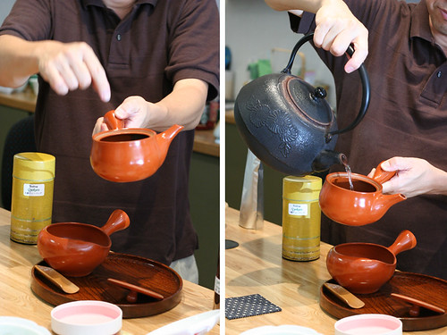 How to pour tea