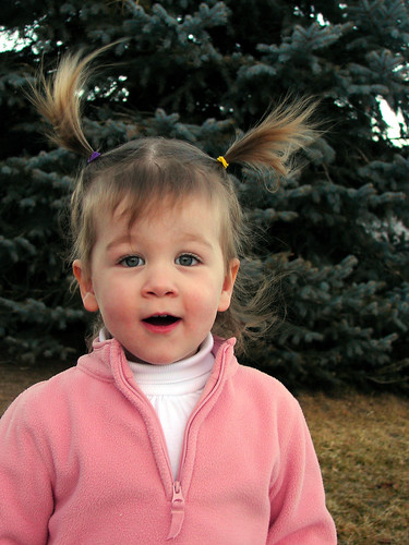 Playing around outside before it gets too cold again