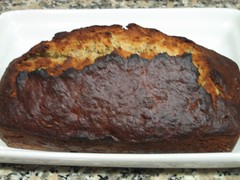 Banana bread: easy and delicious