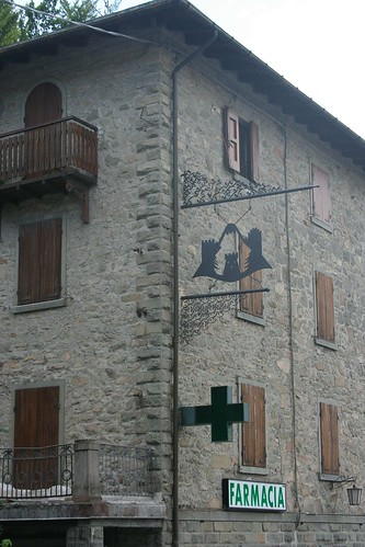 Pharmacy in Abbetone, Italy