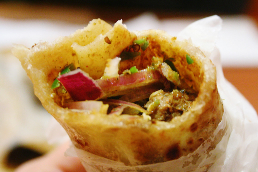 Oh man. Kati Roll is, hands down, the best stuff on Earth. Someone in ...