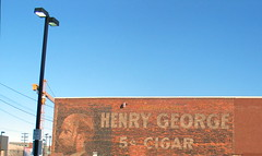Henry George 5 Cigar (Terry Bain) Tags: building brick spokane cigar terrybain henrygeorge