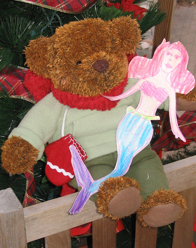 Teddy Bear and the Mermaid