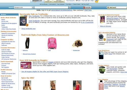 Amazon display picture