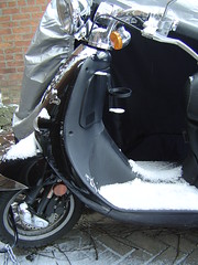 Snowy Scooter