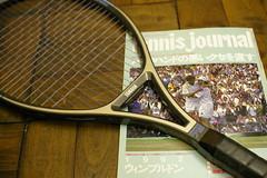 vintage tennis item