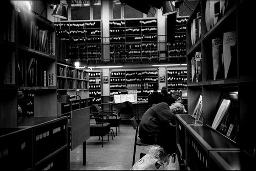 Sleeping in the library II