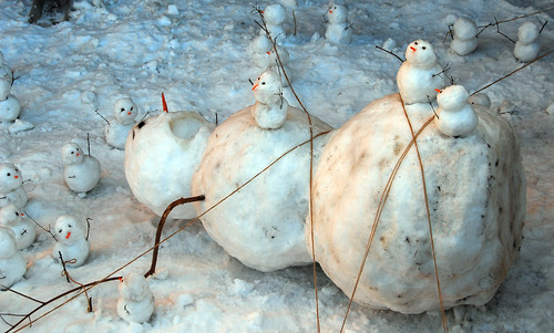 The snowmen rebel