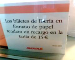 Iberia pesetera