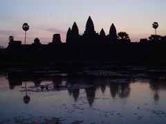 Sunrise at Angkor Wat (on my second sunrise visit)