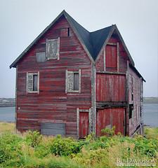 Abandoned house (Bozze) Tags: red house green abandoned norway finnmark varangerpeninsula vardoe wwwoppnahorisonterse