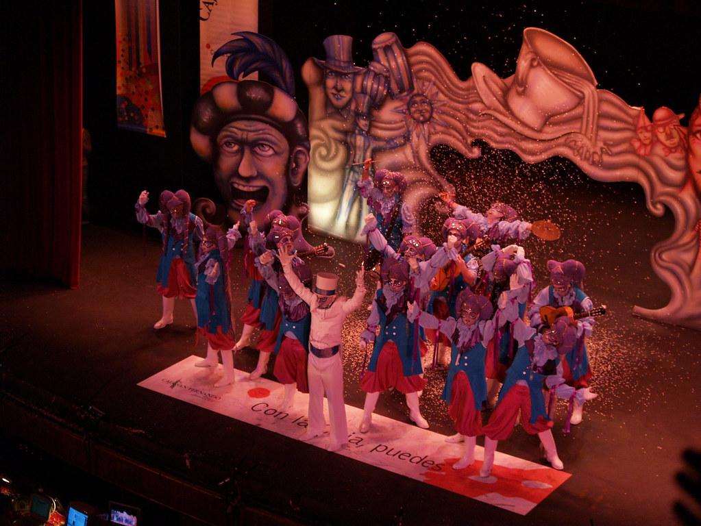 El antifaz en el teatro Falla