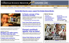 Christian Science Monitor Feb 5, 2007