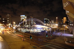 Rotterdam Blaak by night