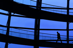 silhouette (Maharepa) Tags: leica shadow berlin silhouette geotagged parliament reichstag dome m8 noctilux schatten photodesign kuppel fotodesign leicam8 leicanoctilux50mmf10 geo:lat=52518728 geo:lon=13376136