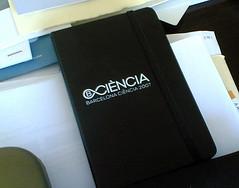 Moleskine de Barcelona Ciencia 2007 (by jmerelo)