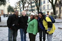 Oltrano walking tour group photo