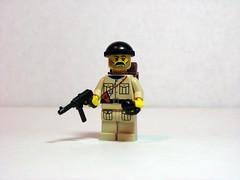 Allied Commando (Dunechaser) Tags: army lego military worldwarii ww2 minifig minifigs weapons commando customs commandos allies machineguns alliedforces aolm brickarms