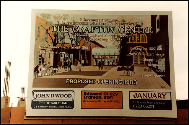 Cambridge 1982: the Grafton Centre