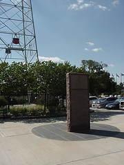 Oklahoma City Oil Field monument