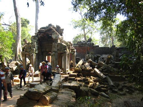 塔普倫寺的門口