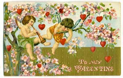 Vintage Valentine's Day Postcard 3