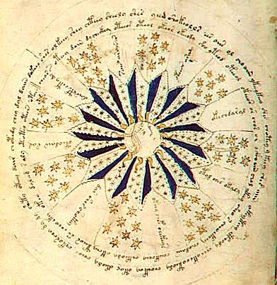 Voynich Manuscript, Cosmology Page