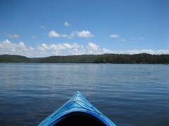 IMG_1806 (pilkster) Tags: lake boat kayak narrabeen