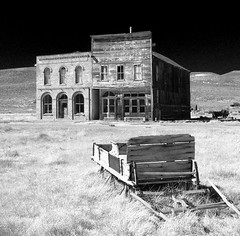 Sleigh of Weeds, Lost Hope (Bodie Bailey) Tags: california sky landscape lumix roadtrip mining ghosttown bodie 395 derelictbuildings highway395 superbmasterpiece