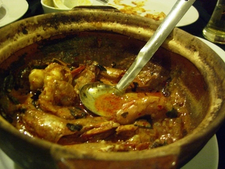 Sutra Prawns Curry