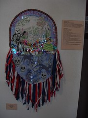 IGS at N 4th Gallery and Arts Center in Albuquerque, NM (Anne Marie Grgich) Tags: life portrait food woman color art face female painting real design colorful artist raw outsiderart pattern power god good spirit great goddess books fate selftaught soul ag heads wise loves mm draw amg watcher within seer kindredspirits delainelebas outsidelookingin visionaryartist annegrgich anniegrgich lifelongartist anniemariegrgich internalguidancesystems rawclassic americanvisionary collagebooks lusciousness hiddenelements likeeasternislandmasks rawvisionmagazine rawvisionreviewissue56