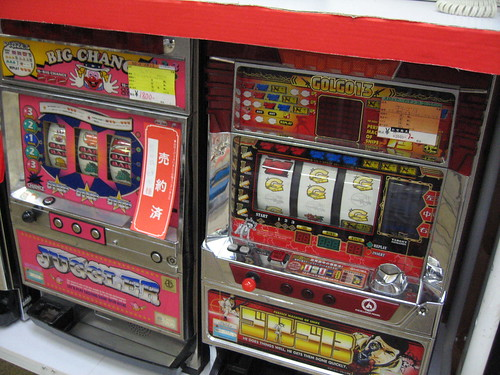 Used Slot Machines by Bad Idea Society Photo Blog