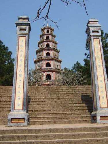 Hue - Chua Thien Mu Pagoge