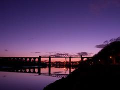 Drogheda - railway bridge (mkrzysztofowicz) Tags: bridge ireland night explore drogheda nikoncoolpix8800