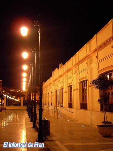 Gral. Macias.Sala exposiciones Club Nautico