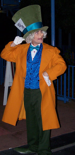 Walt Disney World - Mickey's Not So Scary Halloween Party - Mad Hatter by blondeheroine
