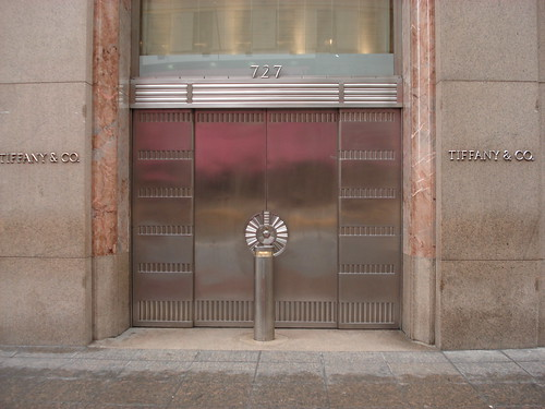 Tiffany's store on 5th Avenue
