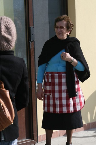 Grandma of the Torta di Patate