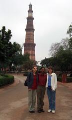 At Qutb Minar
