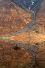alluvial fan-tastic (thomsonalasdair) Tags: mountain mountains reflection water s2pro loch naturesfinest lochetive abigfave benstarav