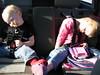 sleeping travelers or rag dolls?