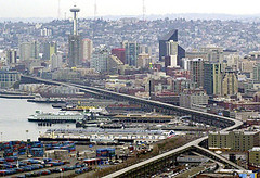 Seattle's 2-mile-long Alaskan Way Viaduct