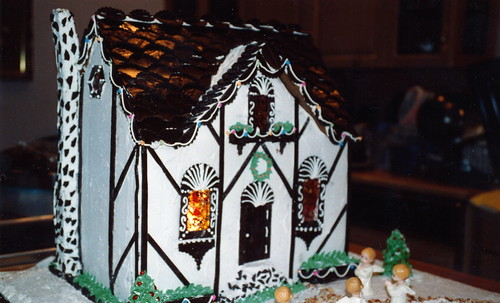 1995 Gingerbread house by ineedathis.