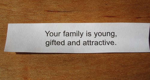 My One Good Fortune...