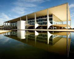 (razorbern) Tags: brazil reflection niemeyer brasil architecture brasilia